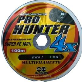 LINHA MARURI PRO HUNTER MULTIFILAMENTO 4X - 0,23MM - 35LB  (100M)