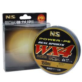 Linha NS WX4 Power PE 0,35mm (53lb) 150m