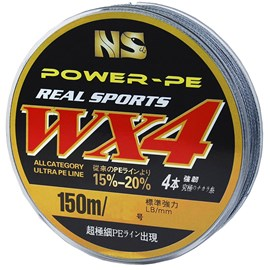 Linha NS WX4 - Power PE - 0,35mm (53lb) 150m
