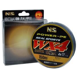 Linha NS WX4 Power PE 0,40mm (62lb) 150m