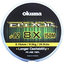 Linha Okuma Epixor 8X 1,2 0,15MM 150MT