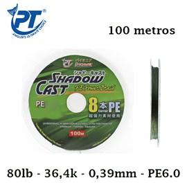 Linha Pioneer Multifilamento Shadow Cast - c/ 100 metros
