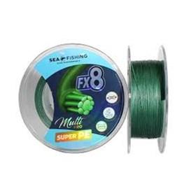 Linha Sea Fishing FX8 - 0,45mm - 65lb - Verde - 300m