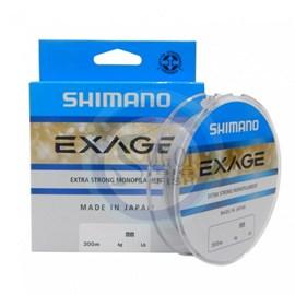 Linha Shimano Exage - 0,185mm - 6,3lb - 300m - Cinza