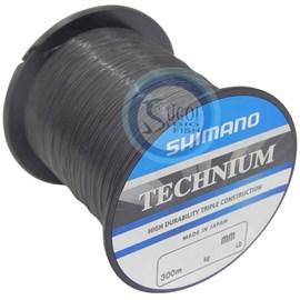 Linha Shimano Technium - 0,255mm - 13,4lb - 300m