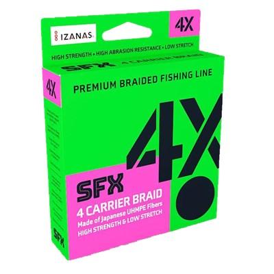 Linha Sufix SFX Braid 4X 135m (Verde)