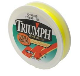 Linha Triumph Super Strong 300m  - Yellow  – Lançamento