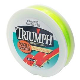 Linha Triumph Super Strong 300m  - Yellow Green – Lançamento