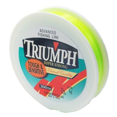 Linha Triumph Super Strong Amarelo Verde 300m