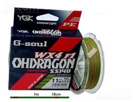 LINHA YGK G-SOUL OHDRAGON WX4 F1 1.5 22,5LB 150M