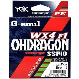Linha YGK G-Soul Ohdragon WX4 F1 2 - 28lb 150m