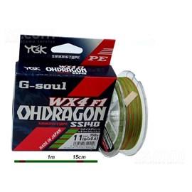 Linha YGK G-Soul Ohdragon WX4 F1 2.5 - 32lb 150m