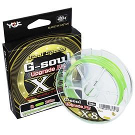 Linha YGK G-Soul Upgrade X8 PE 0,8 (0,14mm /16lb) 200m