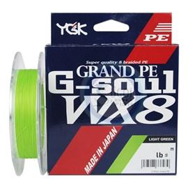 Linha YGK G-Soul WX8 Grand PE 5 (0,37mm /65lb) 150m