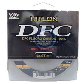 Linha YGK Nitlon DFC Fluorocarbon 5lb C/100m
