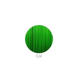 Linha Zeeo Multifilamento 8X 150m Verde Fluorescente