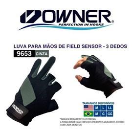 LUVA OWNER 2-0-9653 LL C/3 DEDOS