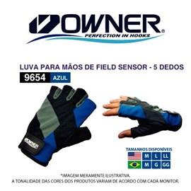LUVA OWNER 2-0-9654 L C/5 DEDOS
