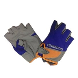 Luva Shimano GL-022N - Tam L - Cor Azul