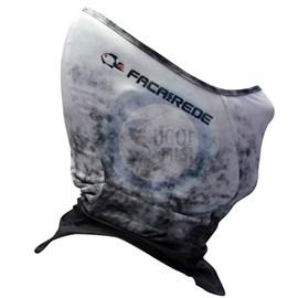 Máscara de Proteção Solar Faca na Rede - Black Neck - FMove