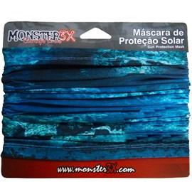 Máscara de Proteção Solar Monster 3X - Deep Blue