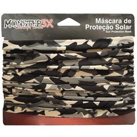 Máscara de Proteção Solar Monster 3X (Fishing Bege)
