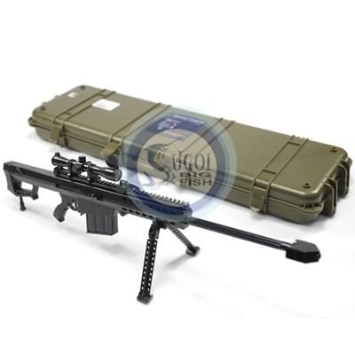 Miniatura Brasil Equipamentos Arsenal Guns - 36cm - M82A1 -(L-R) - Sniper Rifle