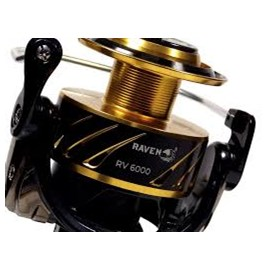 Molinete Sea Fishing Salt Water  Raven 6000 -  11 Rolamentos - Veloc 4.9:1