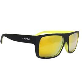 Óculos Yara Polarizado Dark Amarelo Espelhado 5951