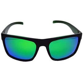 Óculos Yara Polarizado Dark Verde Espelhado 3081
