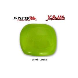 PROTETOR DE CARRETILHA MONSTER 3X - X-BUBBLE - Verde (Direita)
