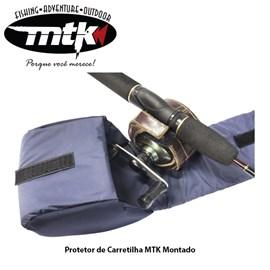 Protetor de Carretilha MTK - Montado - 11cm - Cores Variadas