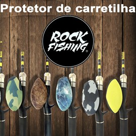 Protetor de Carretilha Rock Fishing - Manivela Esquerda