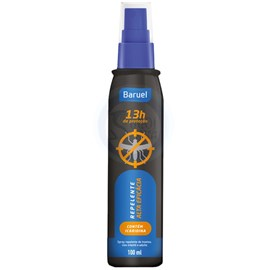 Repelente Baruel Spray - 13 horas - c/ Icaridina - 100ml