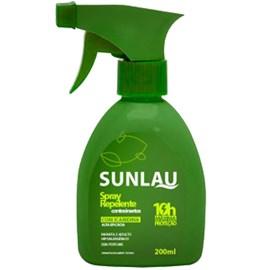 Repelente Sunlau Spray - c/ Icaridina - 200ml