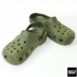 Sandália Mar Negro Crocs 35/36 Verde Musgo 30110