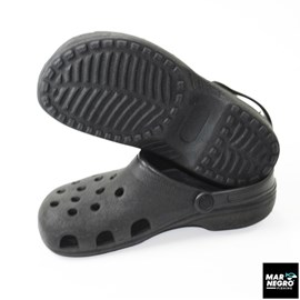 Sandália Mar Negro Crocs 39/40 Preto 30110