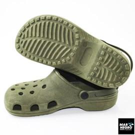 Sandália Mar Negro Crocs 41/42 Verde Musgo 30110
