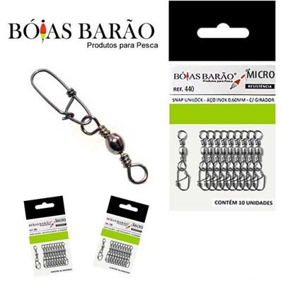 Snap Barao Unilock c/ Girador 442 0,60MM
