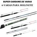 SUPER CARDUME DE VARAS - 6 VARAS - LEVE / MEDIA
