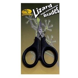Tesoura Lizard 9,5cm Micro-Serrilhada