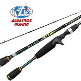 Vara  Albatroz Top Line - 5'8'' - 10-20lb - 1 parte - p/carretilha