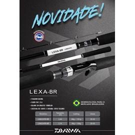 """Vara Daiwa LEXA LX902HFB BR 9'0""""(2,70m)  20-50lb (Carretilha) 2 Partes"""
