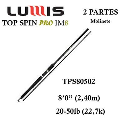 VARA LUMIS TOP SPIN PRO IM8 - TSP 20-50LB