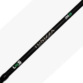 """Vara Lumis Tunizza - TNS66142 - 6'6""""(1,98m) - 5-14lb(6,3kg) - IM8 - 2 Partes - P/ Carretilha"""