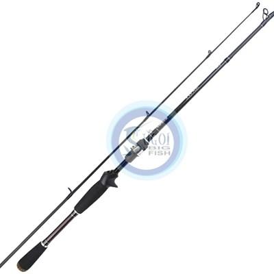 """Vara Lumis Viper VPC56201M - 5'6"""" - 10-20lb - 1 Parte - Carbono IM7 - p/carret"""