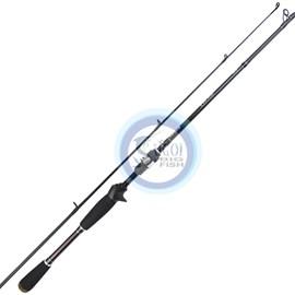 """Vara Lumis Viper VPC601ML - 6'0"""" - 6-17lb - 1 Parte - Carbono IM7 - p/carret"""
