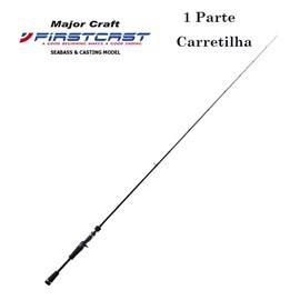 """Vara Major Craft Firstcast FCC-63ML – 6'3"""" – 8-14lb – 1 Parte – P/Carretilha"""