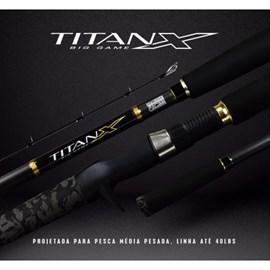 VARA MARINE SPORTS TITAN-X – TXBG-C902H – 20-40LB – P/CARRETILHA