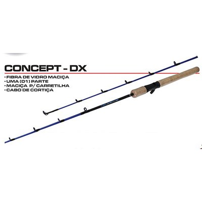 Vara Maruri Concept DX – CTX-C361ML – 7-14lb – 1 Parte - Carretilha